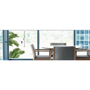 Sticker fenêtres Palmes
