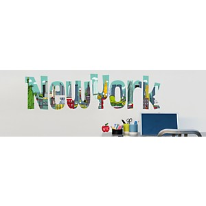 Sticker mural New York BD (LADYLEIA )