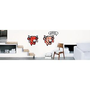 Sticker mural La Vache qui rit