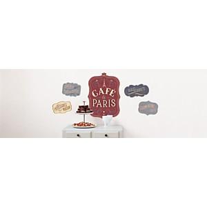 Sticker mural Café de Paris