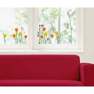Sticker fenêtres Pensées des champs (COPPIETERS VAN CAUWENBERGHE )