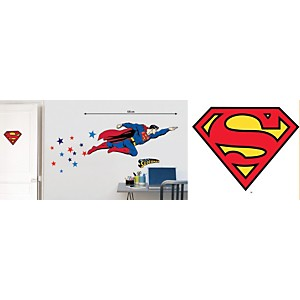Sticker mural Superman (WARNER )