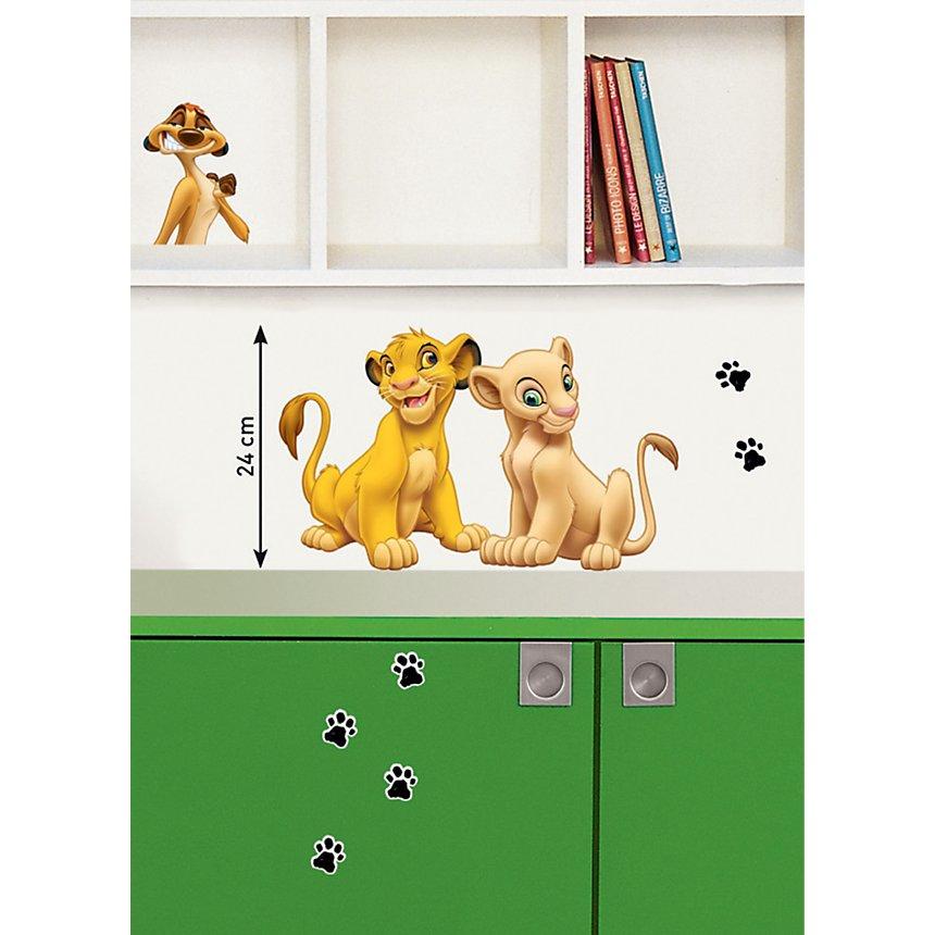 Sticker mural DISNEY Simba