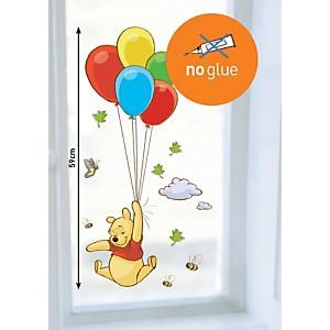 Sticker mural Winnie ballons (DISNEY )