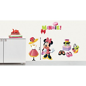 Sticker mural Minnie fashion (DISNEY )