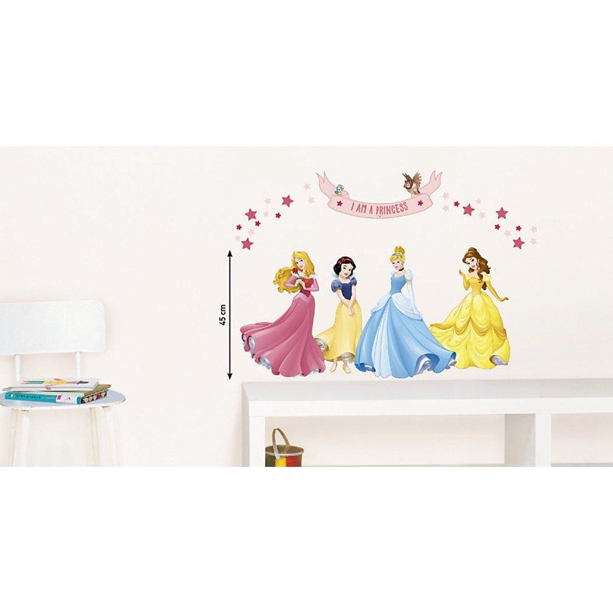 Sticker mural 4 Princesses (DISNEY )
