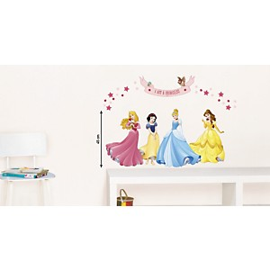 Sticker mural 4 Princesses (DISNEY )