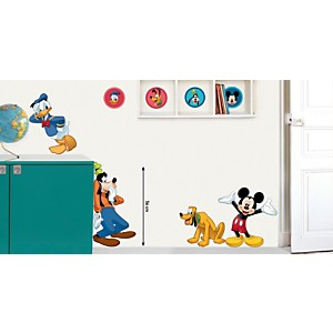 Sticker mural Mickey 4 copains (DISNEY )