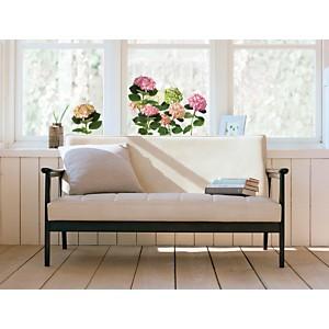Sticker fenêtres Hortensia rose