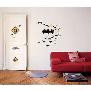 Sticker mural Logo Batman (Warner)