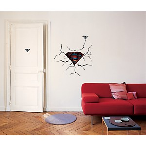 Sticker mural Logo Superman (Warner)