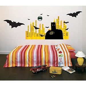Sticker mural Batman City (Warner)