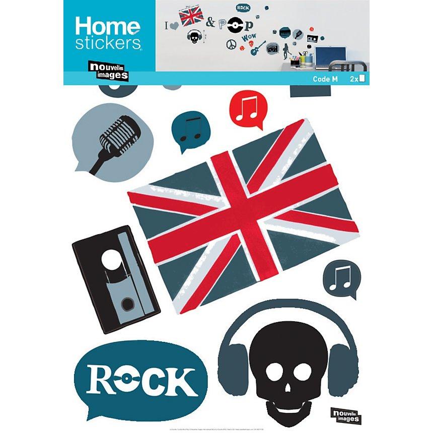 Sticker mural London Pop Rock