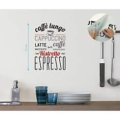 Sticker mural Caffe lungo