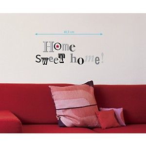 Sticker mural Home sweet home