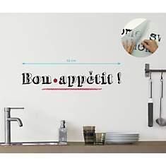 Sticker mural Bon appétit