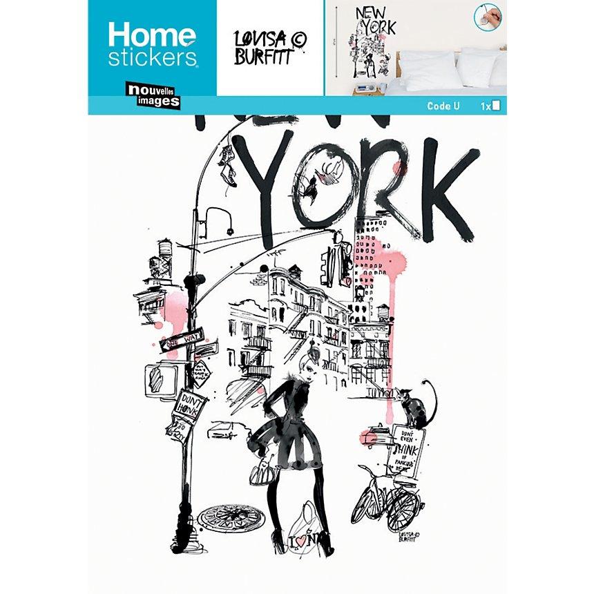 Sticker Transfert New York (BURFITT )
