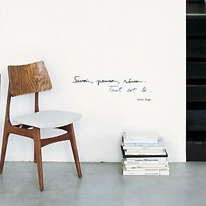 Sticker mural Savoir, penser, rêver (Victor Hugo)