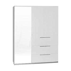 Armoire 3 portes 2 tiroirs - Sunny