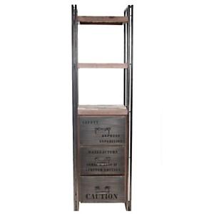 Bibliothèque en bois 3 tiroirs  Industry