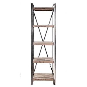 Bibliothèque en bois 5 plateaux  Industry