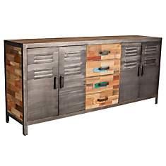Buffet 4 portes 4 tiroirs  Fabrik
