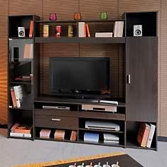Composition TV 2 portes 1 tiroir Bois Ca