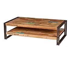 Table basse en bois rectangulaire  Indus...