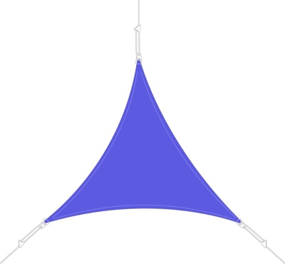 Voile d´ombrage triangle