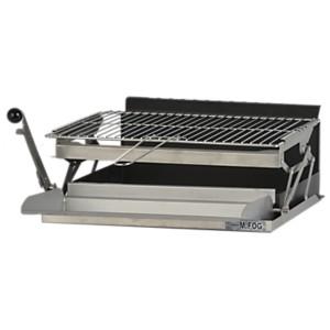 Grilloir mFog avec bac horizontal, grill