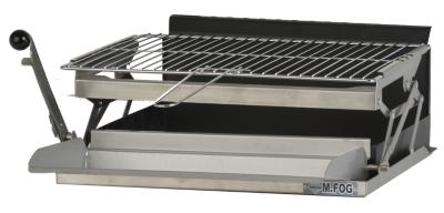 Grilloir mFog avec bac horizontal, grille et lèche frites