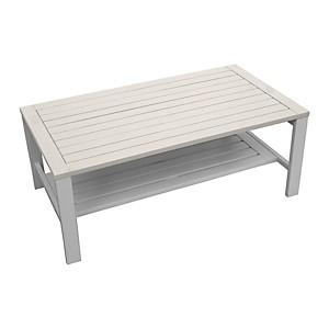Table basse de jardin + double plateau B
