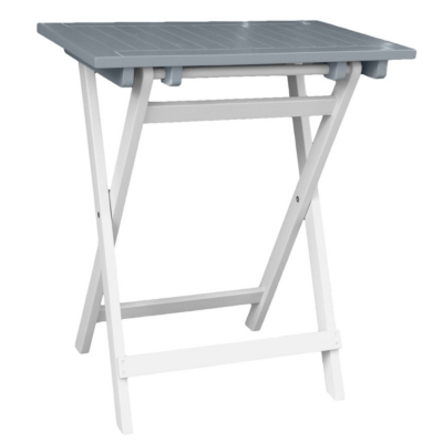 Petite table pliante rectangulaire Burano CITY GREEN