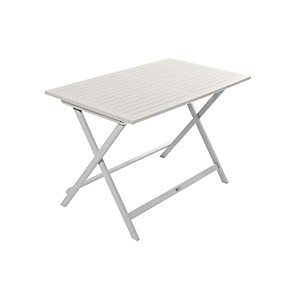 Table de jardin pliante rectangulaire Bu