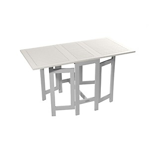 Table console de jardin pliante Burano C