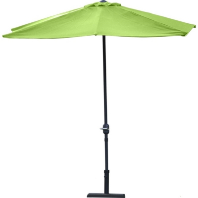 Parasol demi-rectangulaire Cuba CITY GREEN