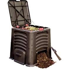 Bac à compost avec couvercle 435L