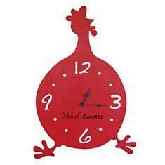 Pendule déco originale Minute Cocotte