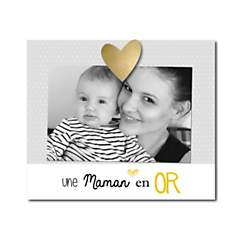 Cadre photo Une Maman en Or