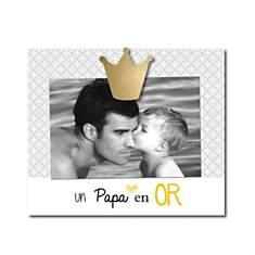 Cadre photo Un Papa en Or