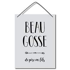 Affiche cadeau Beau gosse