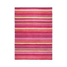 Tapis rose Funny Stripes par Esprit Home
