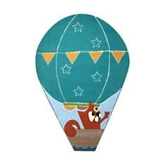 Tapis montgolfière bleu Esprit Home