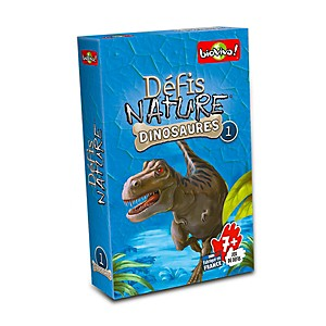 Défi nature dinosaures édition bleue n°1