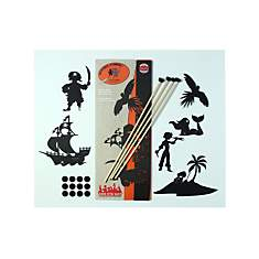 Pochette de silhouettes Les Pirates