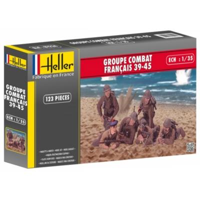 Figurines Groupe Combat 39/45