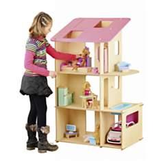 Maxi maison de poupée et ses