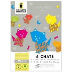 Kit créatif chat - PIROUETTE CACAHOUETE