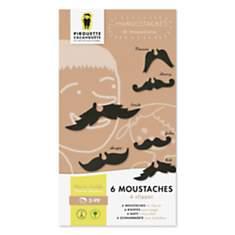 Kit de moustaches - Pirouette Cacaouhète