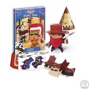Paper Toys - Far West - SENTOSPHERE